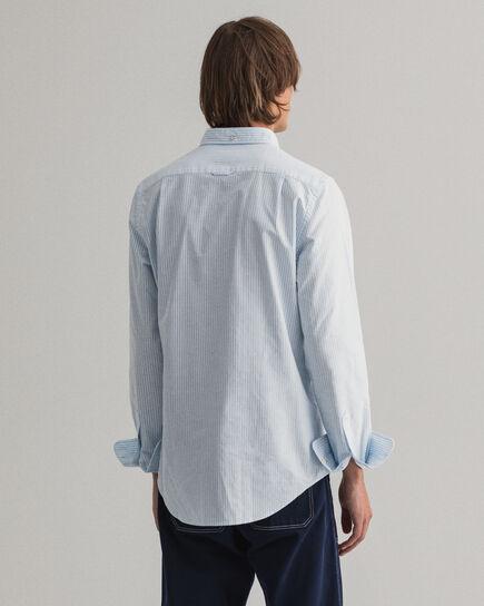 Slim Fit Banker Stripe Oxford Shirt
