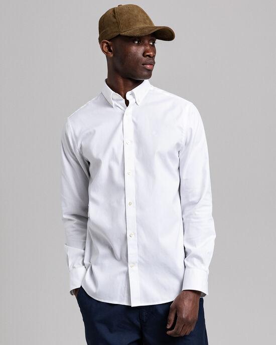 Regular Fit Pinpointvävd oxfordskjorta