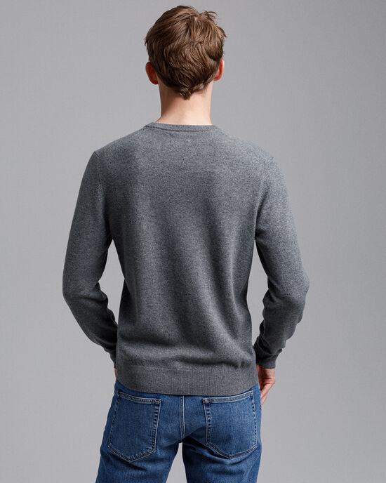 Super Fine Lambswool V-Neck Sweater