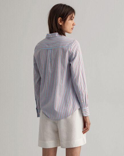 Regular fit randig Air Oxford-skjorta
