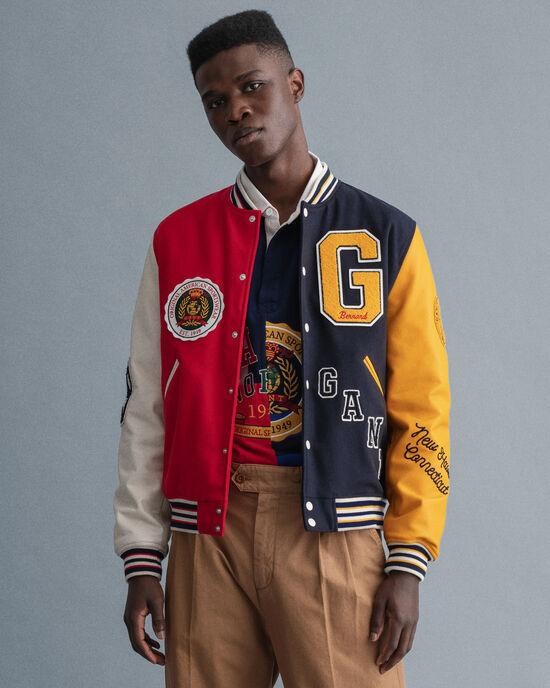 GANT Varsity Jacket med märke