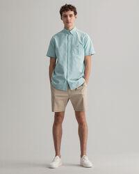 Regular Fit Kortärmad oxfordskjorta