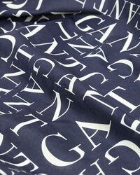 Typography mönstrad sarong