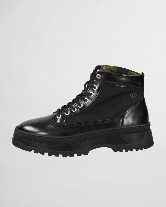 St Grip mellanhöga boots med snörning