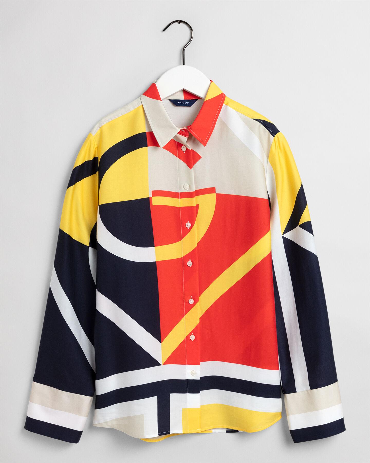 Blockfärgad Iconic G-skjorta