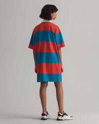 Kortärmad Heavy Rugger-klänning med dragkedja
