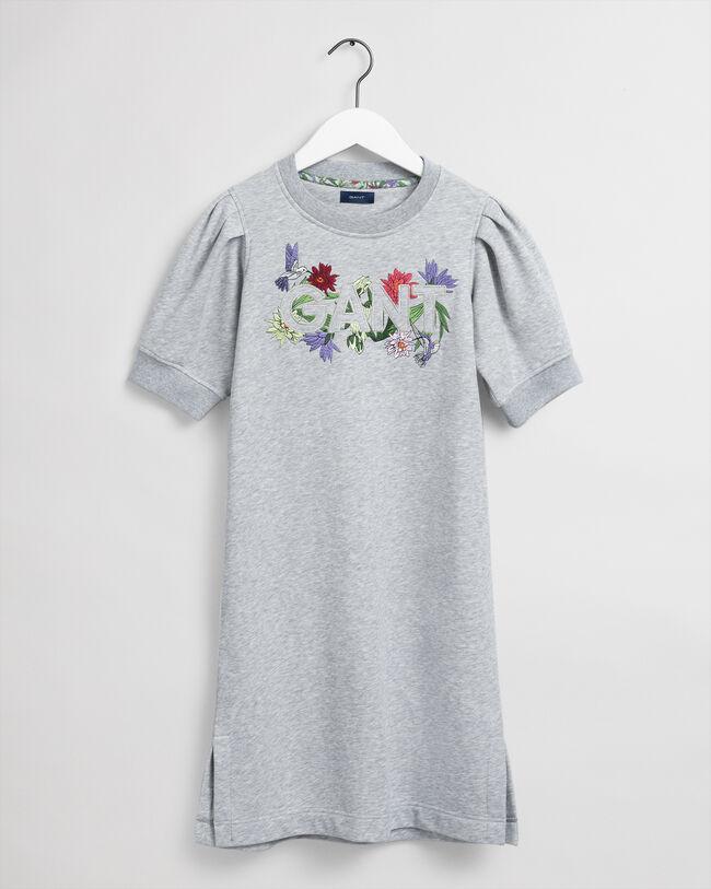 Teen Girls Flower Logo sweatklänning