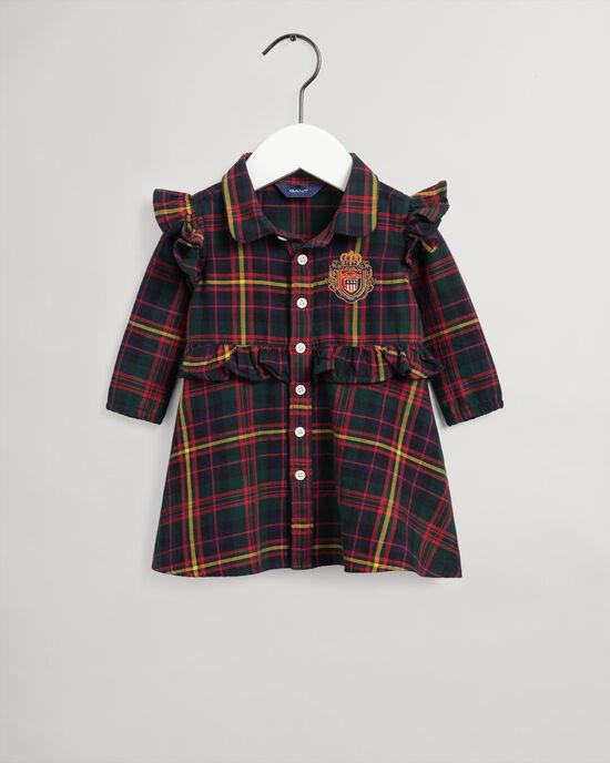 Baby Girls US Royalty flanellklänning