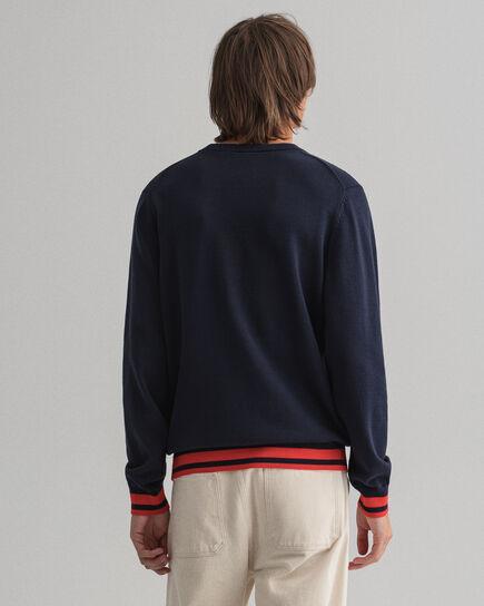 Rough Weather Crest rundhalsad tröja