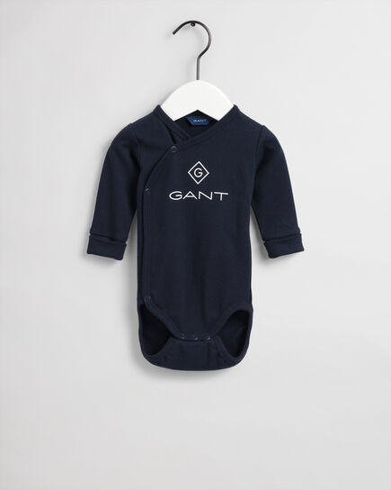 Baby Logo body i ekologisk bomull