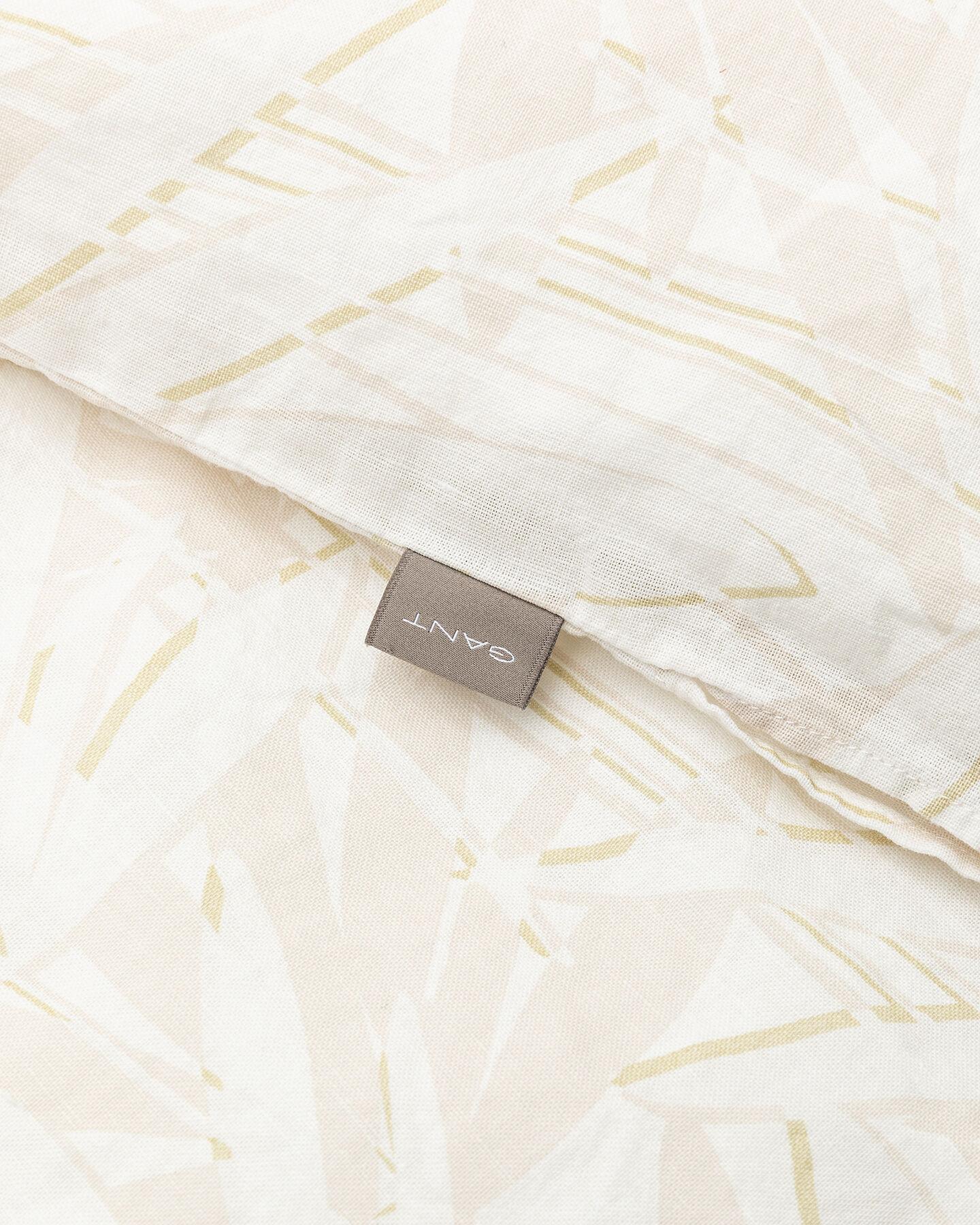 Grow påslakan i bomull och linne, enkel