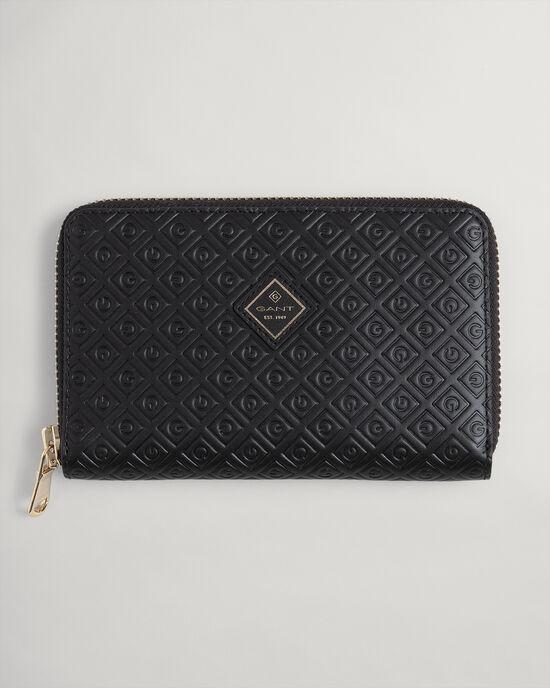 Iconic G plånbok i skinn