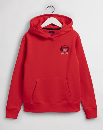 Teen Boys Medium Crest hoodie