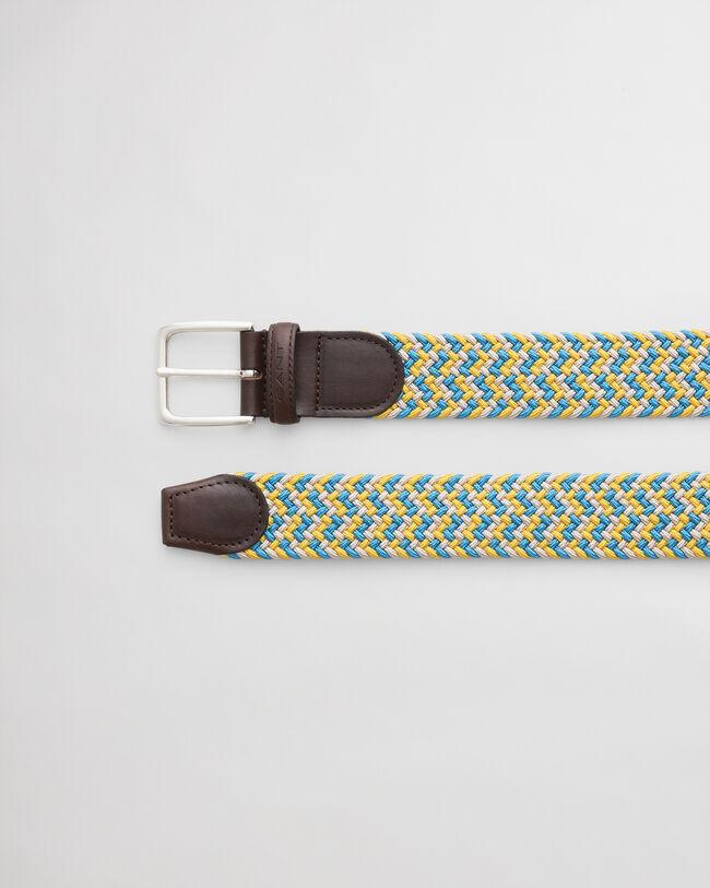 Flätat resårbälte med mönster