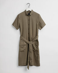 Skjortklänning i safarimodell
