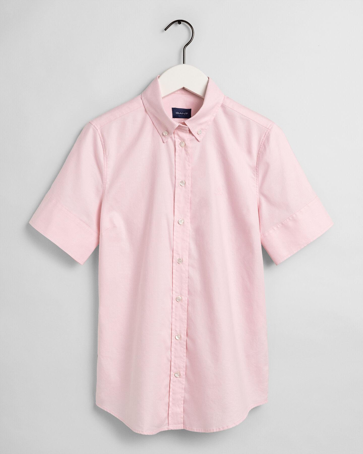 Short Sleeve Stretch Oxford Shirt