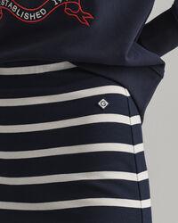 Jerseykjol med marina ränder