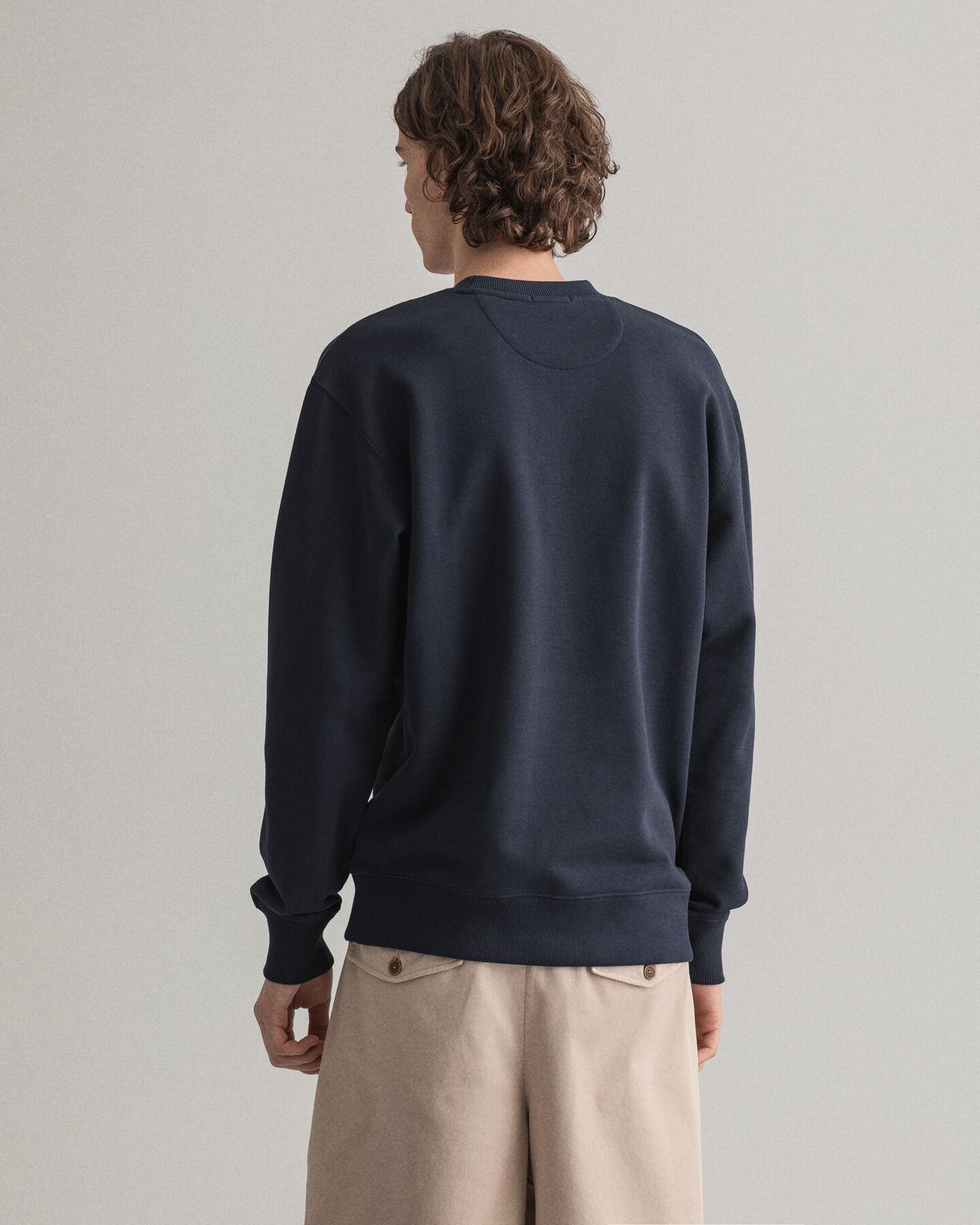 Graphic Logo Crew Neck Sweatshirt