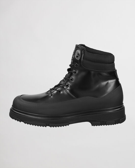 Royzer mellanhöga boots med snörning