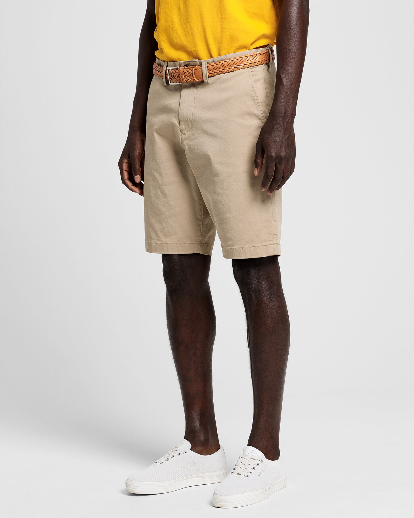 Relaxed fit twillshorts