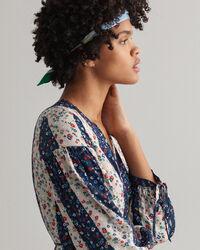 Liberation Flower omlottklänning med tryck