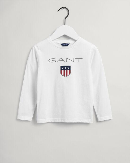Kids Shield långärmad T-shirt