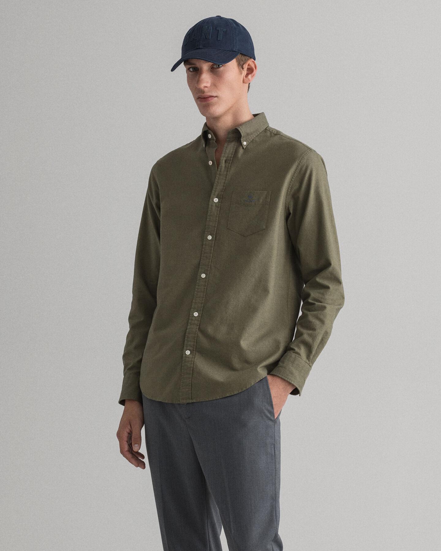 Regular fit Beefy Oxford skjorta