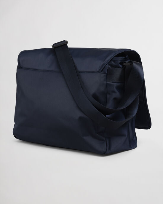 Retro Shield messenger-väska