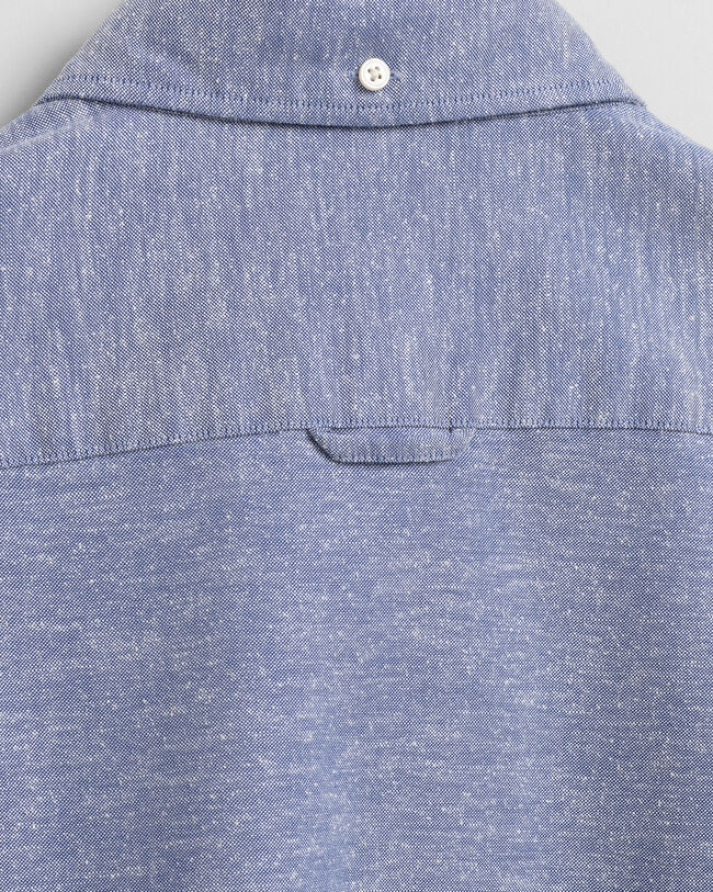 Slim Fit Cotton SIlk Oxford Shirt