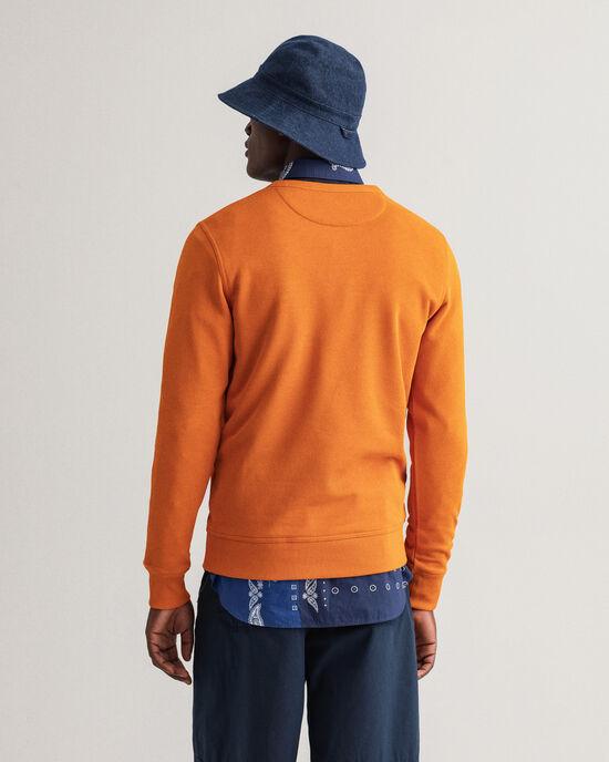 Archive Shield sweatshirt med rund halsringning