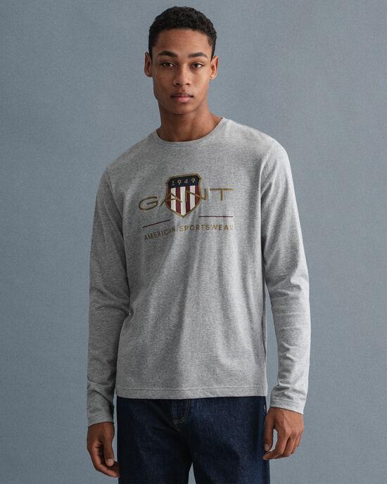 Archive Shield långärmad T-shirt