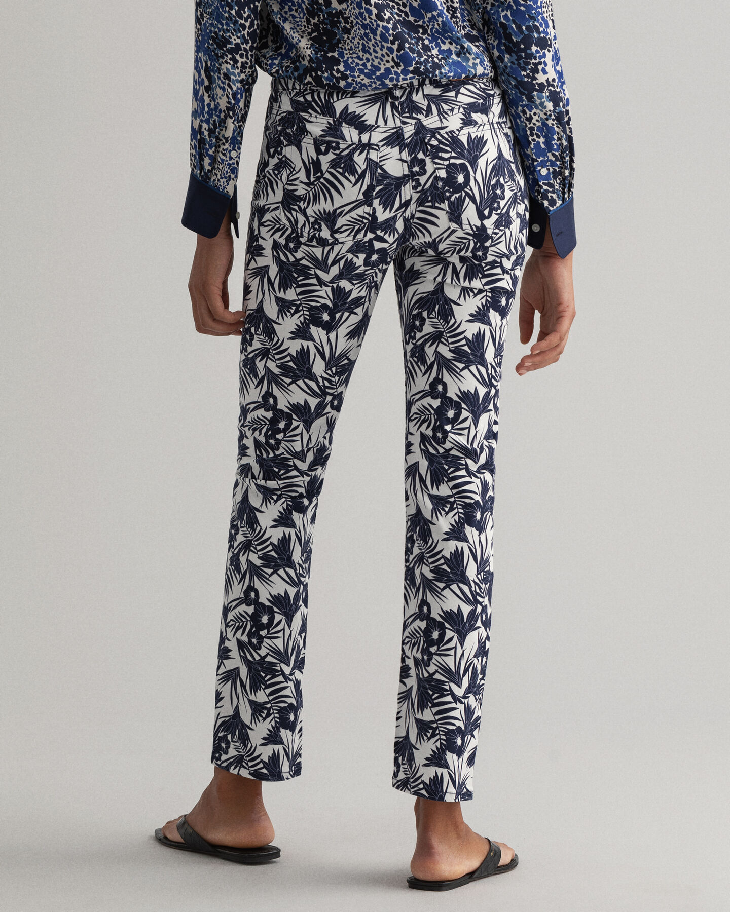 Tidal Bloom Farla mönstrade jeans