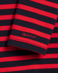 Striped Long Sleeve Rib T-Shirt
