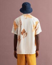 Relaxed fit Seaside skjorta med tryck
