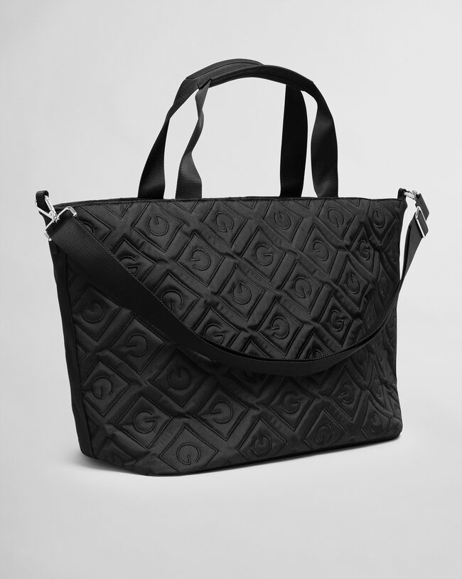 Iconic G quiltad shoppingväska