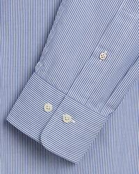 Slim Fit Banker Stripe Broadcloth Shirt