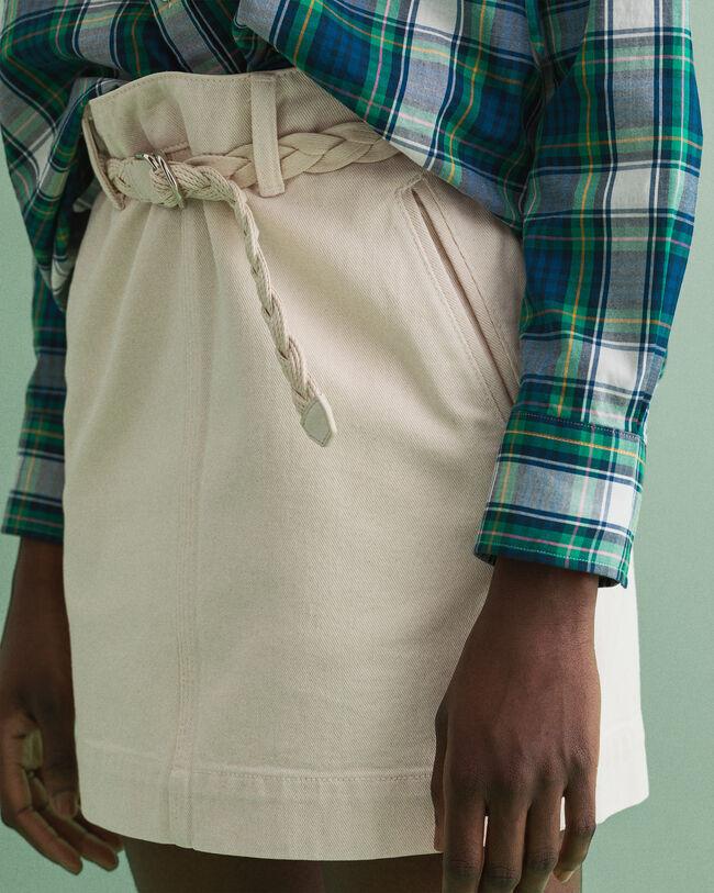 Kjol i ekologisk bomull