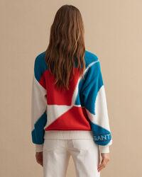 Rough Weather blockfärgad tröja med rund halsringning
