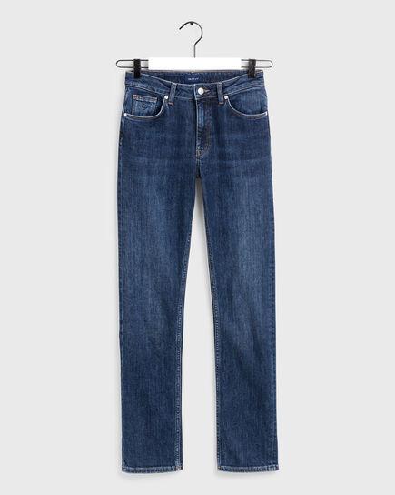 Slim Fit Classic Jeans