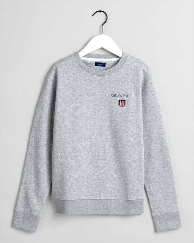 Teens Medium Shield rundhalsad sweatshirt
