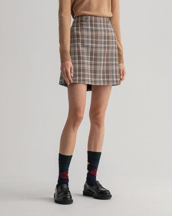Heritage rutig minikjol