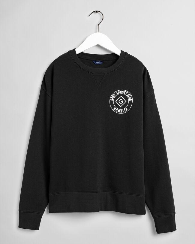Graphic Crew Neck Sweatshirt