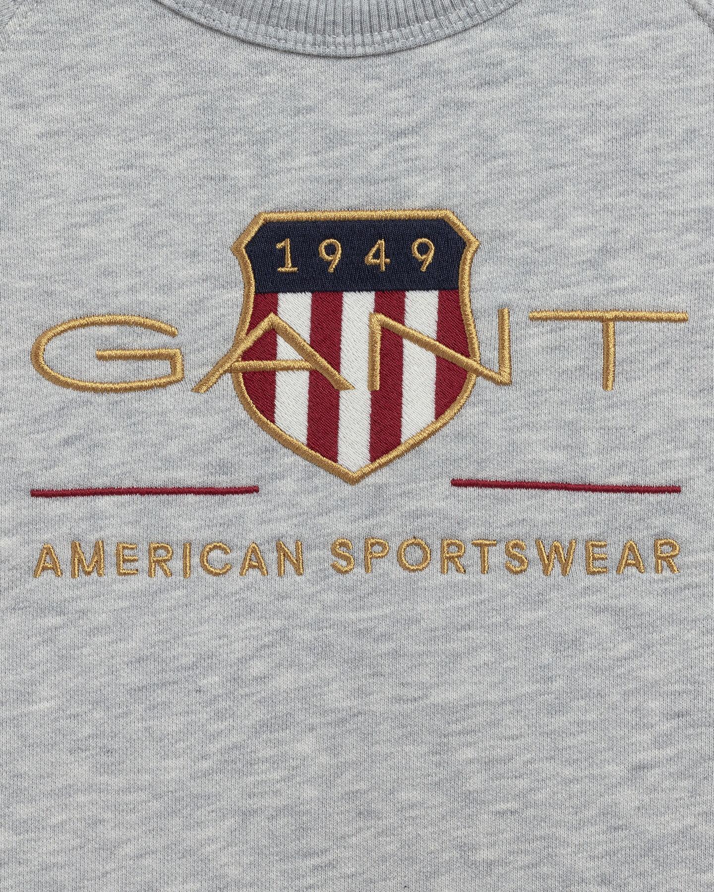 Kids Archive Shield rundhalsad sweatshirt