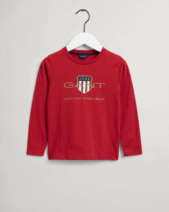 Kids Archive Shield långärmad T-shirt