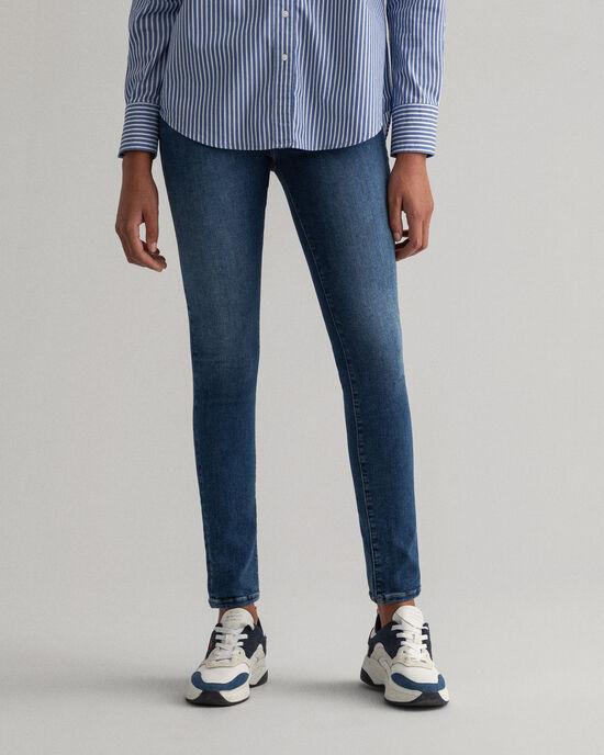 Nella Travel indigofärgade jeans