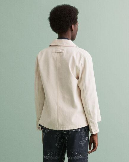 Skjortjacka i ekologisk bomull