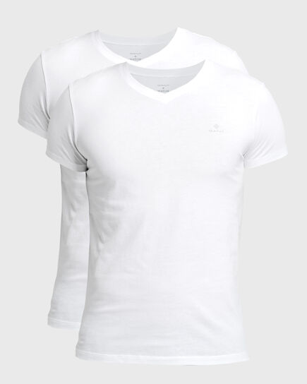 Tvåpack V-ringade T-shirtar