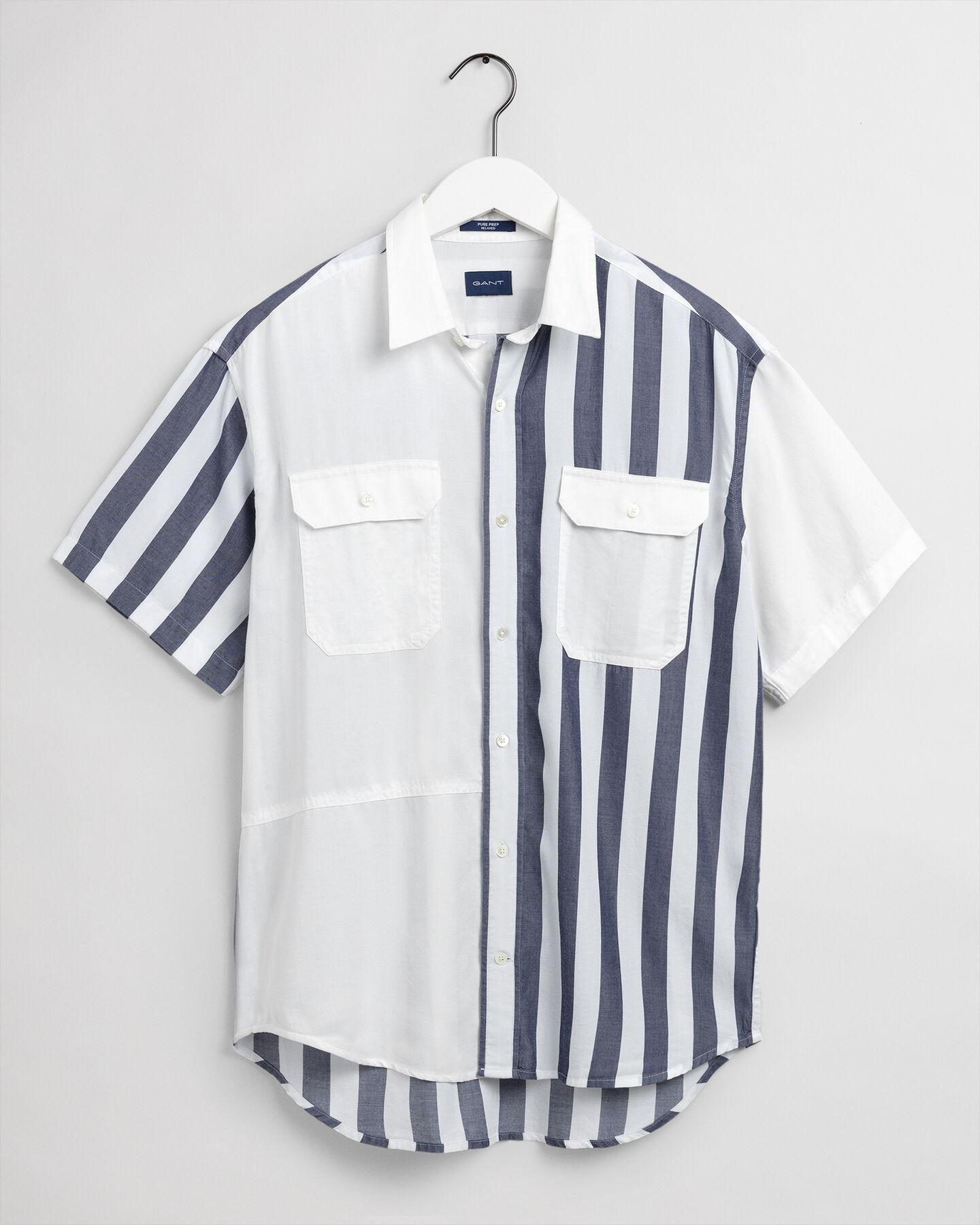 Relaxed fit Pure Prep kortärmad lyocellskjorta