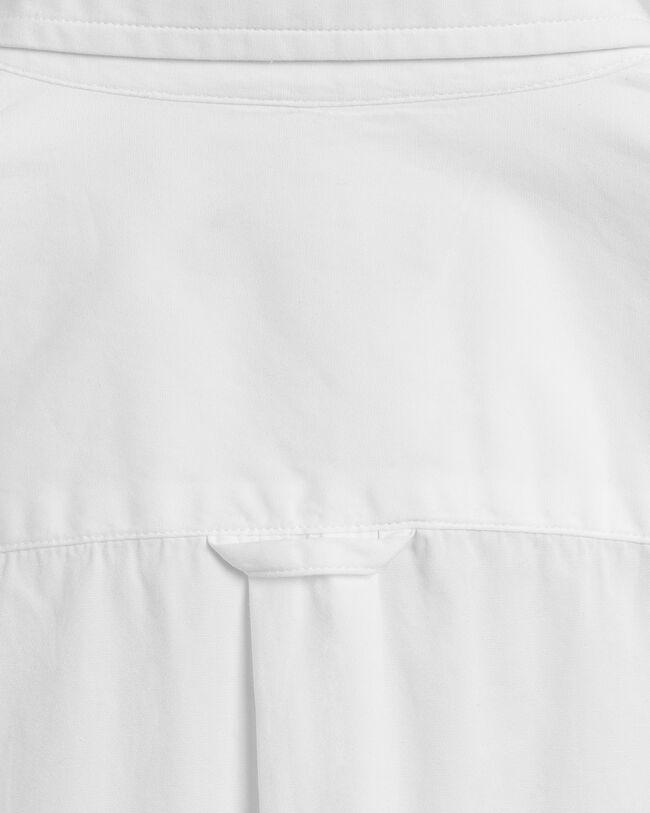 Teen Girls oversized poplinskjorta