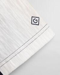 T-shirt med vertikala ränder